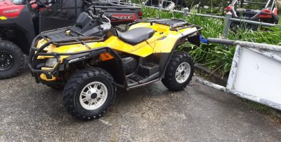 2012 Can am ATV